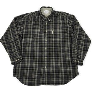Columbia Vintage Long Sleeve Flannel Button Down